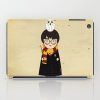harry iPad Cases featuring Kokeshi Harry  by Pendientera