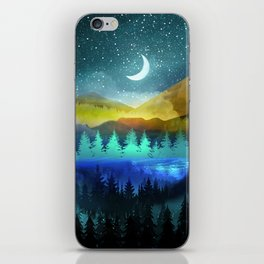Silent Forest Night iPhone Skin