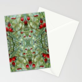 Rose hip Abstract Photography Stationery Cards