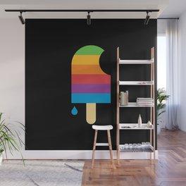 iPop (black) Wall Mural