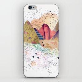 montañas iPhone Skin