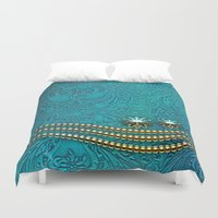 decorative Duvet Covers featuring Decorative design by nicky2342