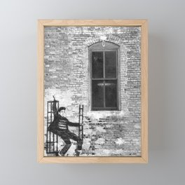 Elvis Framed Mini Art Print