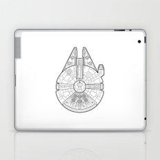 Millenium Falcon. Laptop & iPad Skin