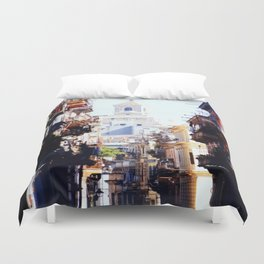 Old Downtown Havana Cuba Duvet Cover