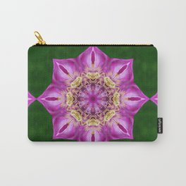 Clematis Betty Risdon mandala Carry-All Pouch