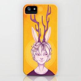 Kaki-Lu iPhone Case