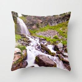 Plaikni Falls Throw Pillow