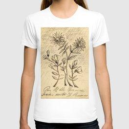 Oak Branch, 1907 - 1908 by  Henri Rousseau, fine french art T-shirt