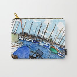 Boats at the Marina Carry-All Pouch