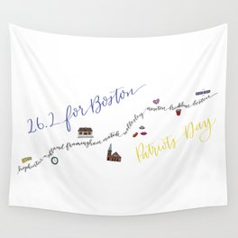 26.2 for Boston Wall Tapestry