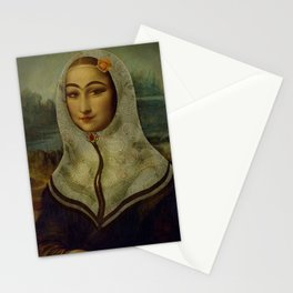 Persian mix: The Mona Lisa Stationery Cards