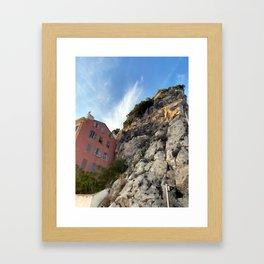 French Riviera Nice Framed Art Print