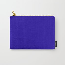 Neon Blue - solid color Carry-All Pouch