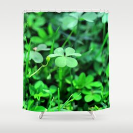 Clover Stay Shower Curtain