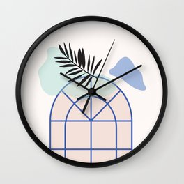 // Royal Gardens 02 Wall Clock