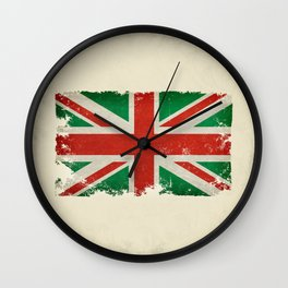 Italian Union Jack Wall Clock