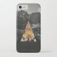 western iPhone & iPod Cases featuring Western World by Sean Bernhardt Art
