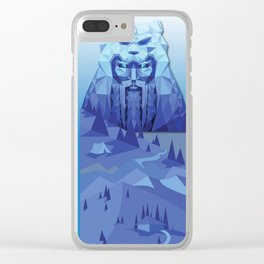 A Viking History No. 1 Clear iPhone Case