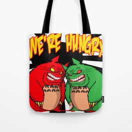 HUNGRY MONSTERS Tote Bag