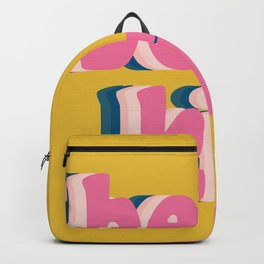 Be Kind Inspirational Anti-Bullying Typography Backpack