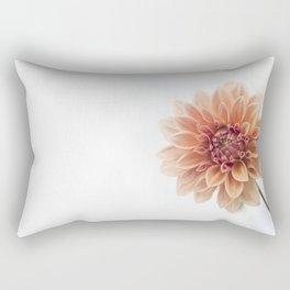 Dahlia Flower Rectangular Pillow
