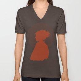 Woman Color 4 Unisex V-Neck