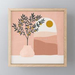 lemon tree Framed Mini Art Print