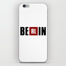 La Casa de Papel - BERLIN iPhone Skin