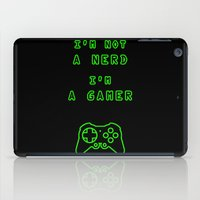 uncharted iPad Cases featuring Nerd? Gamer by MarcoMellark