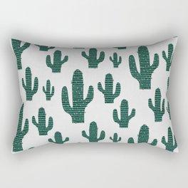 Cactus Crowd Rectangular Pillow