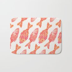 Indonesian Fish Duo – Melon Palette Bath Mat