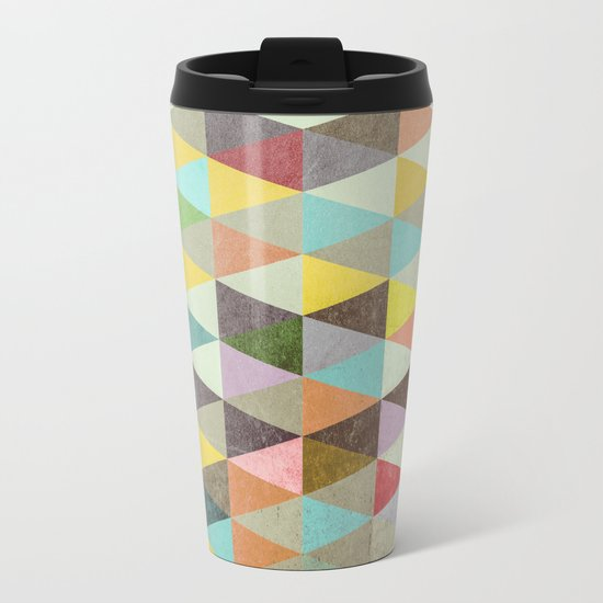 Triangles XXI Metal Travel Mug
