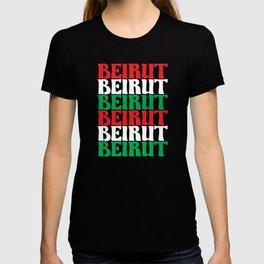 Beirut Lebanon Support Lebanese T-shirt