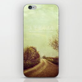 On the Road Again iPhone Skin