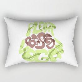 Avacado. Vegan plants base Rectangular Pillow
