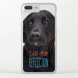 I am your reflection Clear iPhone Case