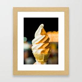Ice Cream! Framed Art Print