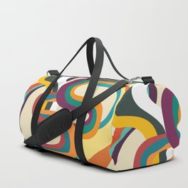 Groovy rainbow of doom Duffle Bag