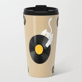 Dj cat Travel Mug