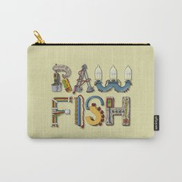 MACHINE LETTERS - RAW FISH Carry-All Pouch