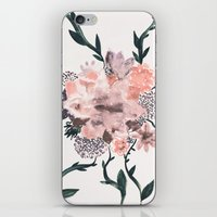 kpop iPhone & iPod Skins featuring Summer Flowers by Georgiana Paraschiv