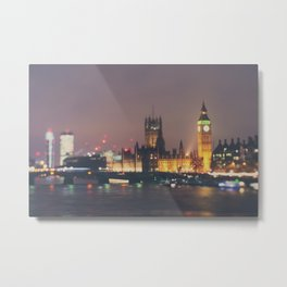 down by the thames ... Metal Print