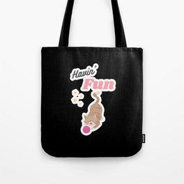 Havin Fun Cat Cat Tote Bag