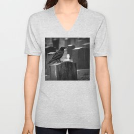 It Can't Rain All The Time Unisex V-Neck