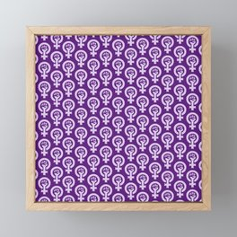 Feminism and Women's Rights, Equality and Diversity Framed Mini Art Print