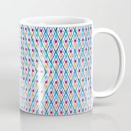 Dots and Triangles Coffee Mug