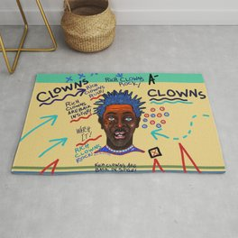 Rich Clowns Are Back In Style Rug