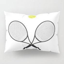 Tennis Racket And Ball 2 Pillow Sham