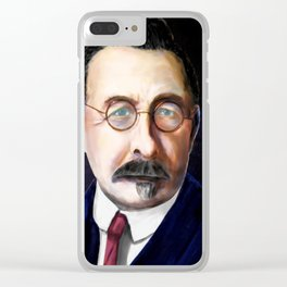 Pieter Jelles Troelstra Clear iPhone Case